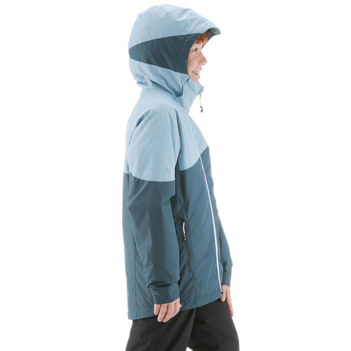 Chaqueta de esquí de fondo júnior XC S JKT 100 gris
