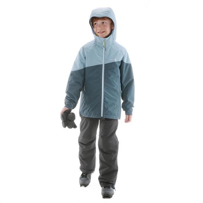 Langlaufjas voor kinderen XS S JKT 100 grijs
