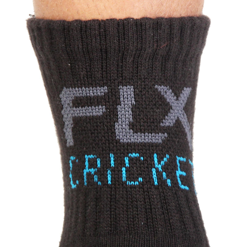 Cricket Socks, Half Cushion - Black