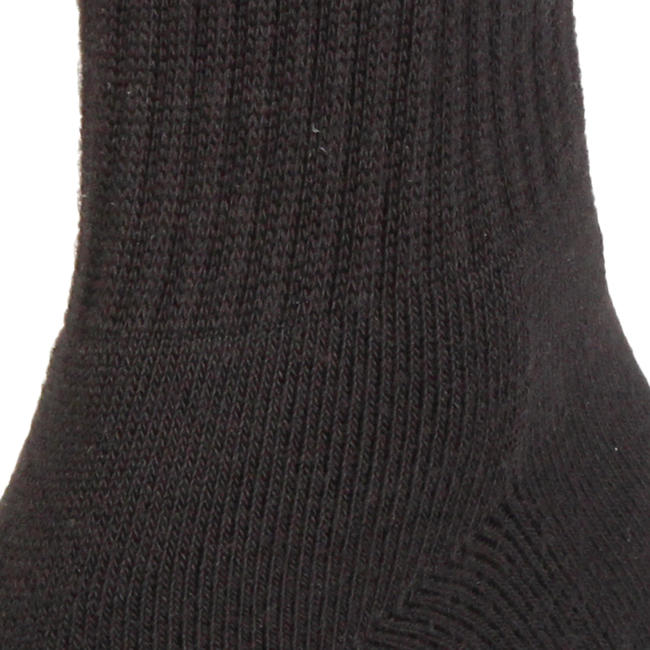 Cricket Socks, Half Cushion - Black