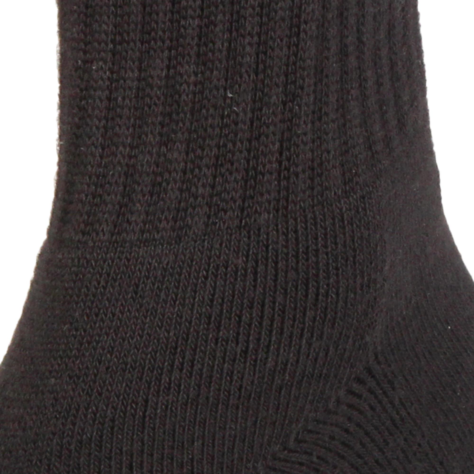 Socks Half Cushion Black