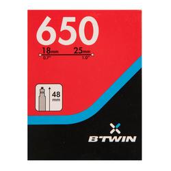 650x18/25 35 mm Presta Valve Inner Tube