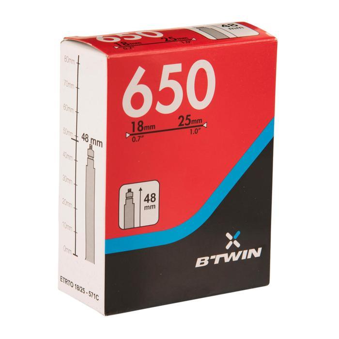 Fahrradschlauch 650×18/25 Presta-Ventil 48mm