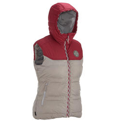 Bodywarmer voor trekking Arpenaz 600, damesmodel - 135091