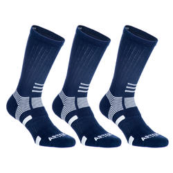 RS 560 High-Rise Sports Socks Tri-Pack - Blue/White
