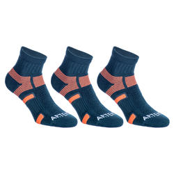 RS 560 Mid Sport Socks Tri-Pack - Grey/Orange