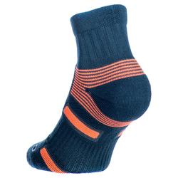 Tennissocken RS 560 Mid 3er-Pack grau/orange Artengo