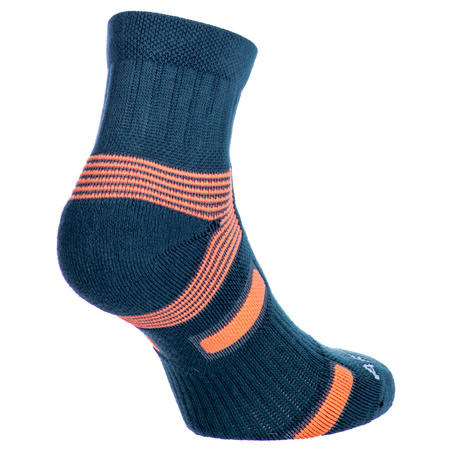BAS DE SPORT MI-HAUTS ARTENGO RS 560 GRIS ORANGE LOT DE 3