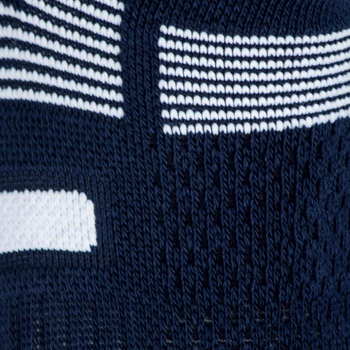 Tennissocken RS 560 Lowedge Erwachsene 3er-Pack marineblau/weiß