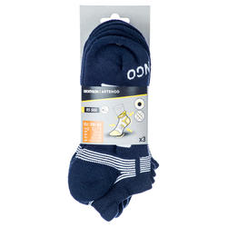 Low Tennis Socks RS 560 Tri-Pack - Navy/White