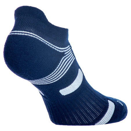 RS 560 Lowedge Sports Socks Tri-Pack - Navy/Putih