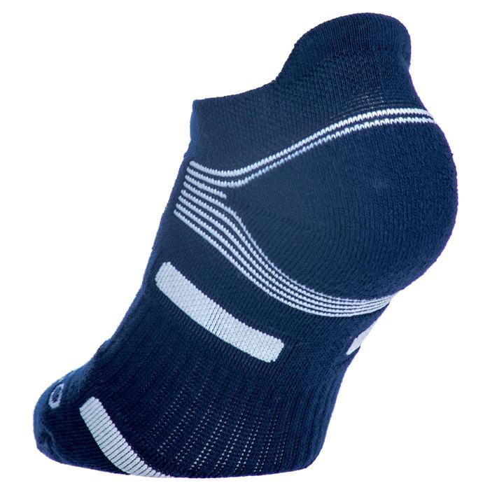 Sportsokken Lowedge Artengo RS 560 marineblauw wit 3 paar