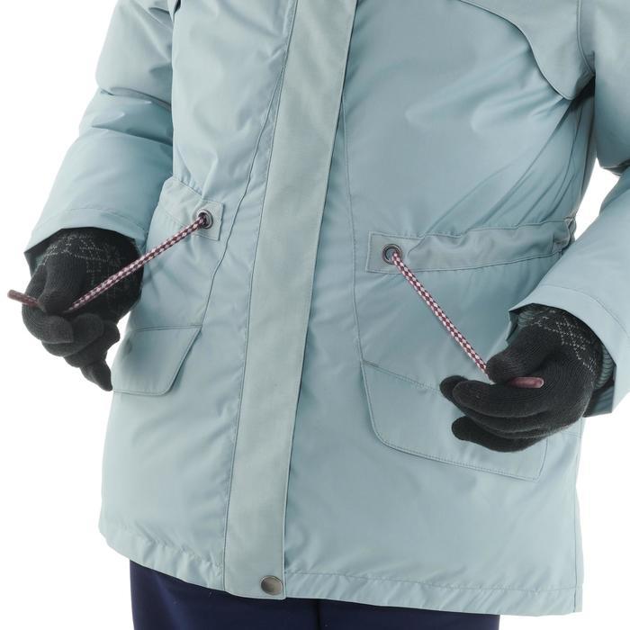 Chaqueta de senderismo nieve júnior SH500 x-warm ice