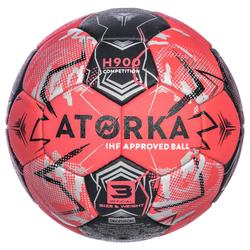 Ballon de handball H900 IHF Taille 3 jaune et