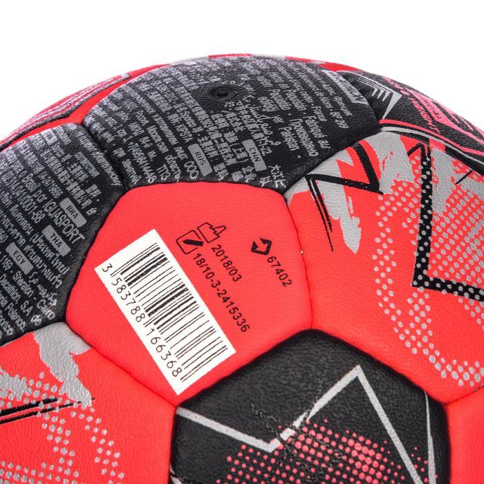 Handbal voor volwassenen H900 IHF maat 3 rood / zwart