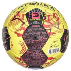 Balón de balonmano adulto H900 IHF Talla 3 amarillo / rojo