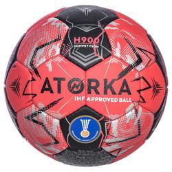Handbal H900 IHF maat 3 rood / zwart