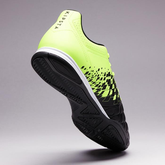 Zaalvoetbalschoenen Agility 500 voor volwassenen zwart geel