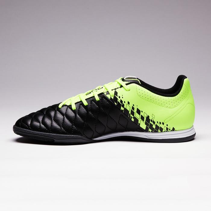 Chaussure de futsal adulte Agility 500 jaune noire