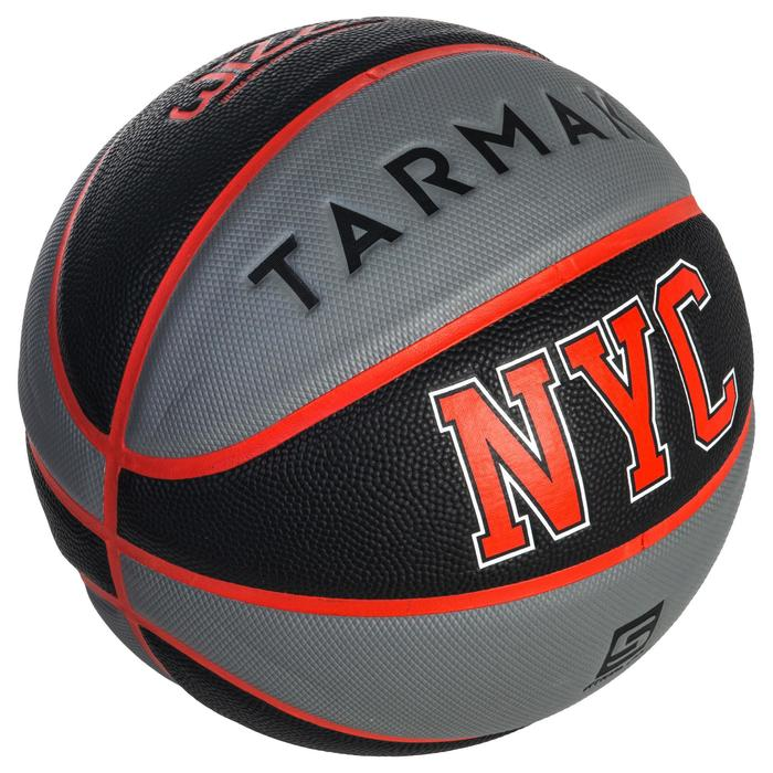 Basketball Wizzy NYC Größe5 Kinder schwarz/grau