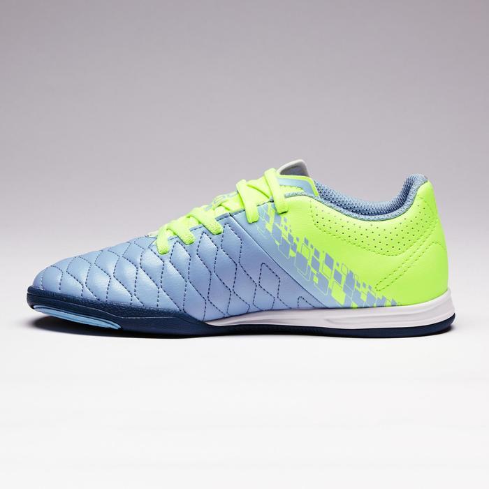 Chaussure de futsal enfant Agility 500 bleue à scratch - 1351575