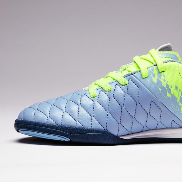 Chaussure de futsal enfant Agility 500 bleue à scratch - 1351578