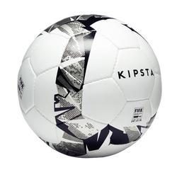 Zaalvoetbal 900 63 cm wit en grijs