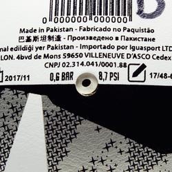 Zaalvoetbal FS900 maat 4 wit/grijs