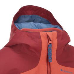 Warme en waterdichte 3-in-1 meisjesjas voor trekking Hike 500 - 135160