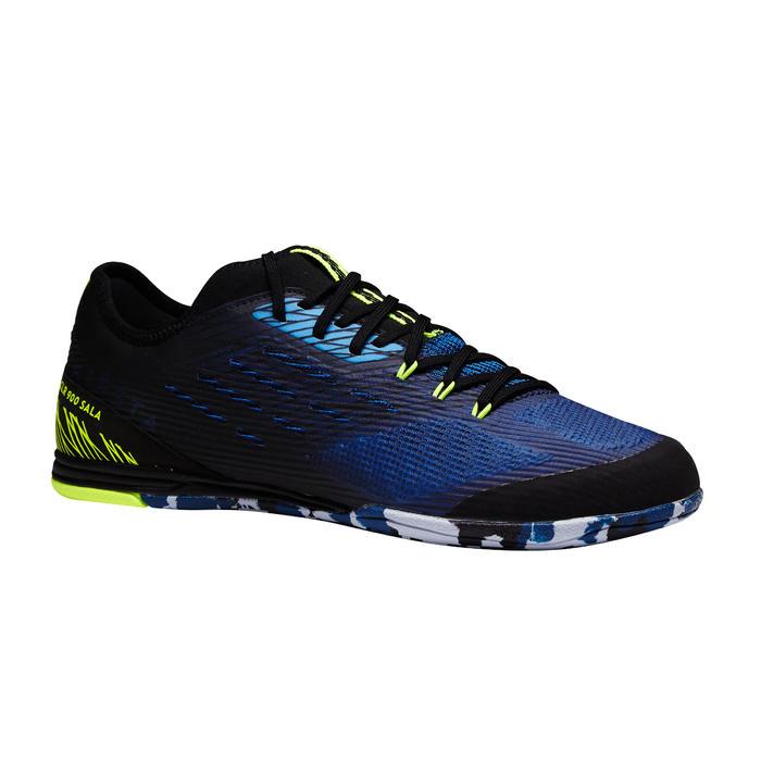 a32fa0dc75a96 Zapatillas de fútbol sala adulto CLR 900 azul Kipsta