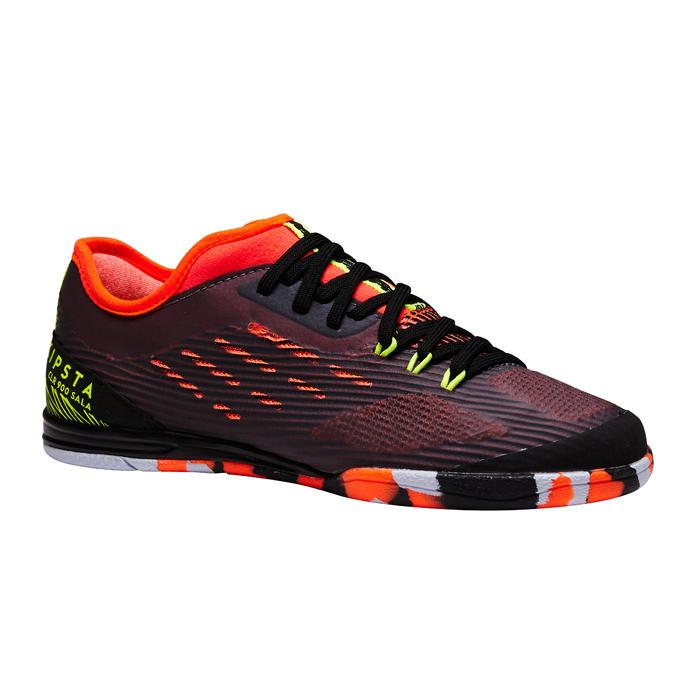 Chaussure de futsal enfant CLR 900 noire orange - 1351621