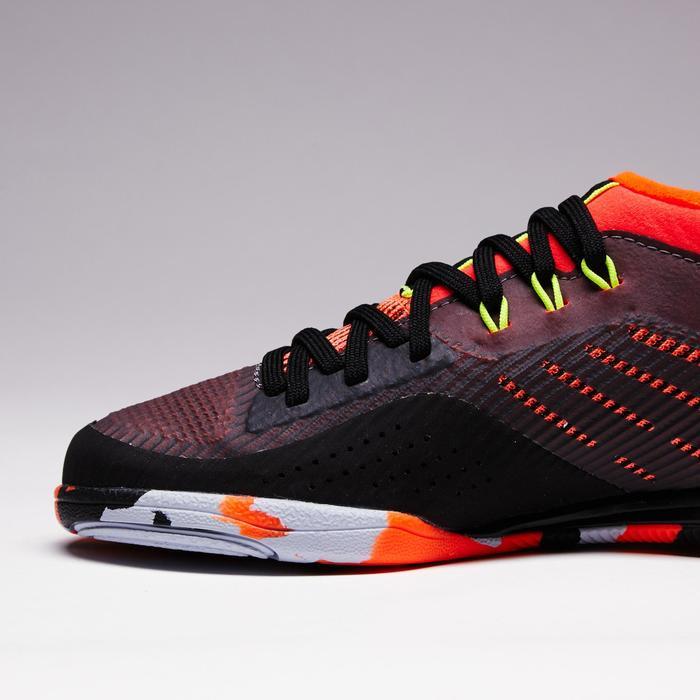 Chaussure de futsal enfant CLR 900 noire orange - 1351622