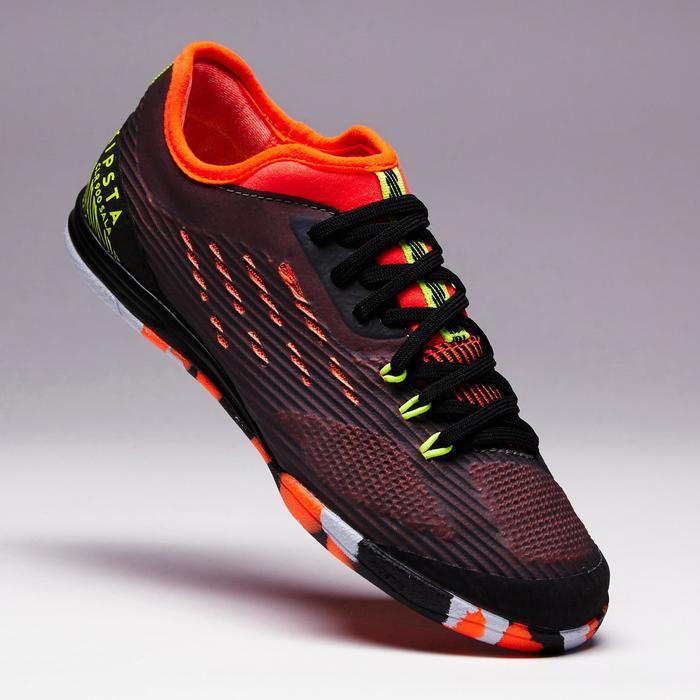 Chaussure de futsal enfant CLR 900 noire orange - 1351623