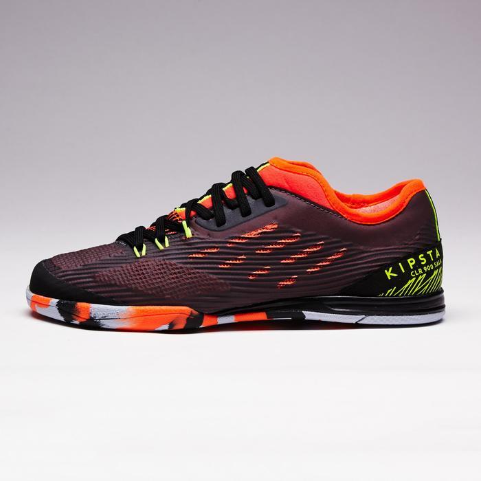 Chaussure de futsal enfant CLR 900 noire orange - 1351624
