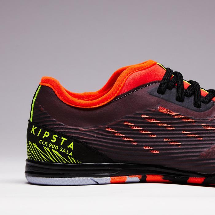 Chaussure de futsal enfant CLR 900 noire orange - 1351627