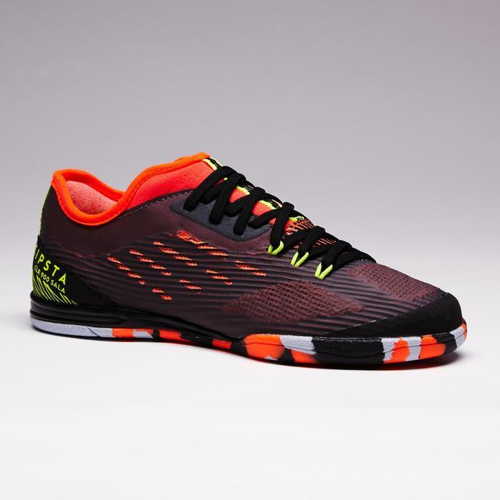 Chaussure de futsal enfant CLR 900 noire orange - 1351628