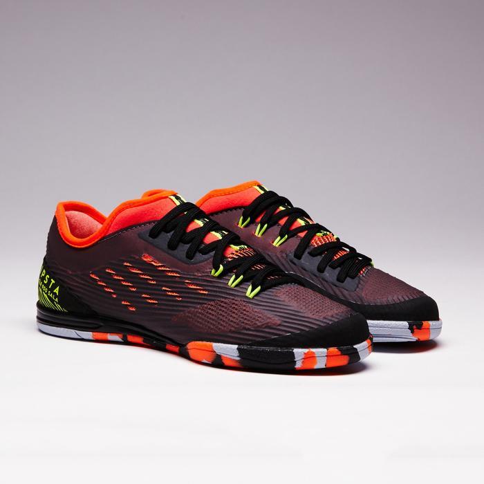 Chaussure de futsal enfant CLR 900 noire orange - 1351631