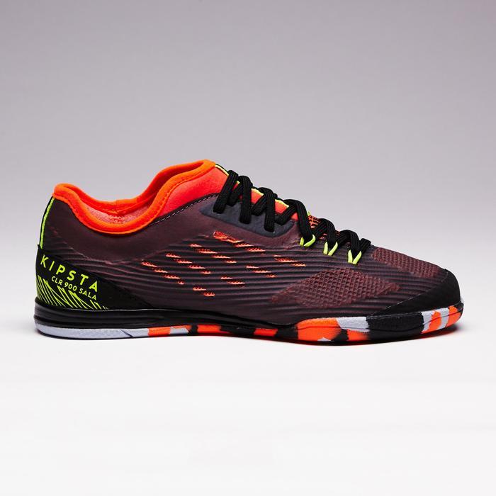 Chaussure de futsal enfant CLR 900 noire orange - 1351634