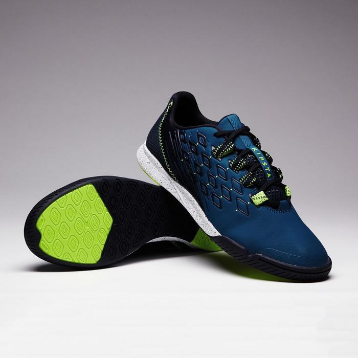 Hallenschuhe Futsal Fußball Fifter 900 blau