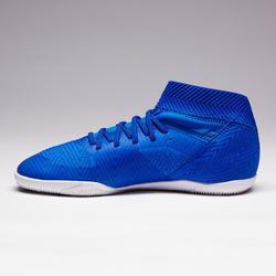 Chaussures de Futsal NEMEZIZ TANGO 3 enfant AH18 Bleu blanc