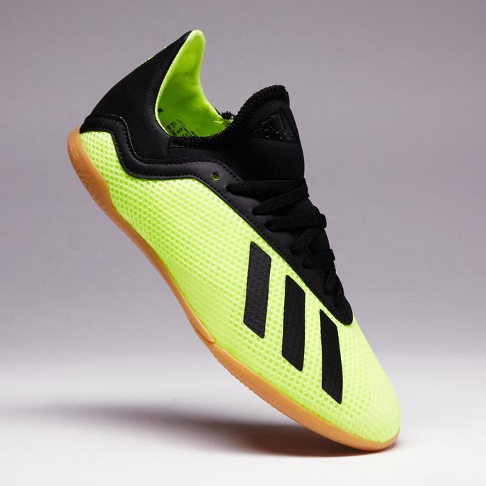 Zaalvoetbalschoenen voor kinderen X Tango 18.3 geel zwart