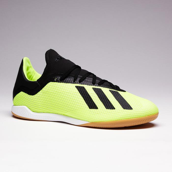 Zaalvoetbalschoenen X Tango 18.3 sala voor volwassenen geel/zwart