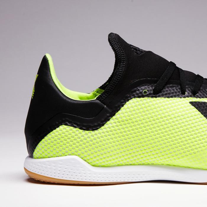 Hallenschuhe Fußball Futsal X Tango 18.3 Erwachsene gelb/schwarz