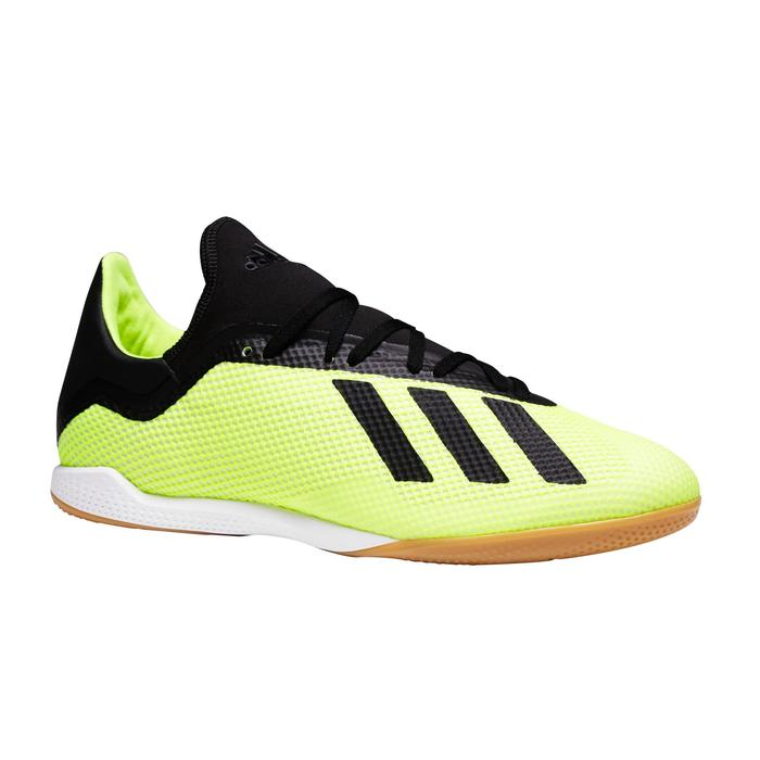 Zaalvoetbalschoenen X Tango 18.3 geel zwart