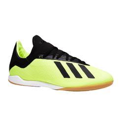 Hallenschuhe Fußball Futsal X Tango 18.3 Kinder gelb/schwarz