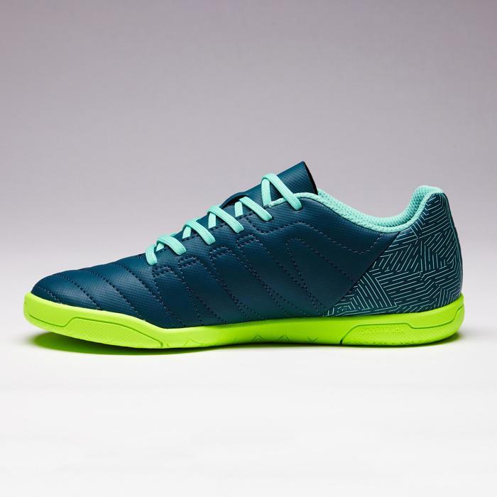 Chaussure de futsal enfant CLR 500 bleue jaune - 1351696