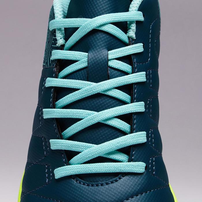 Chaussure de futsal enfant CLR 500 bleue jaune - 1351698