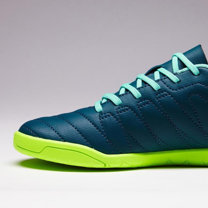 Chaussure de futsal enfant CLR 500 bleue jaune - 1351699