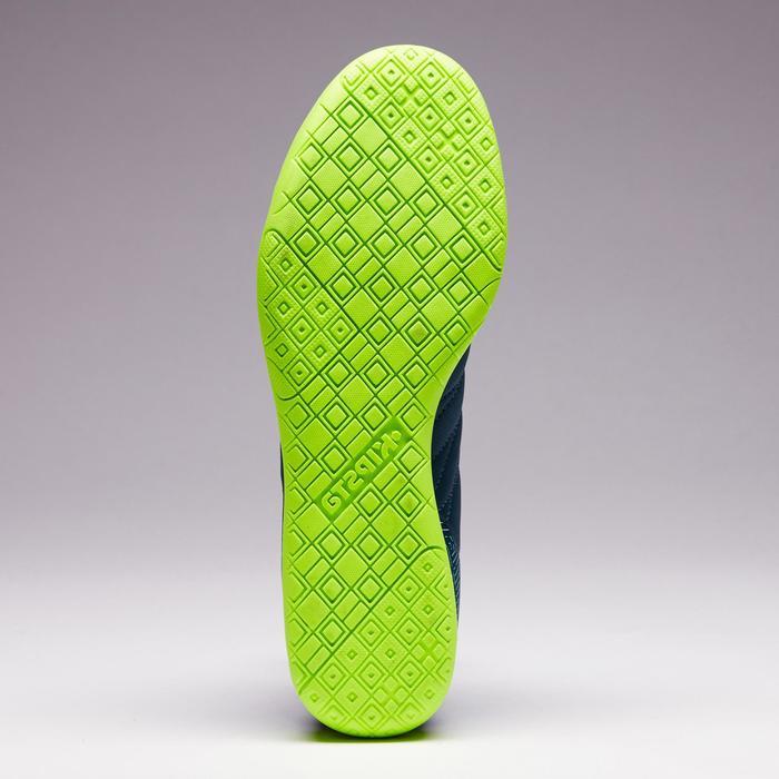 Chaussure de futsal enfant CLR 500 bleue jaune - 1351700