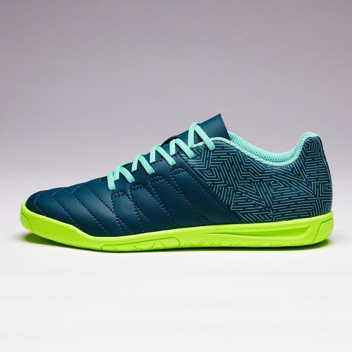 Chaussure de futsal enfant CLR 500 bleue jaune - 1351701